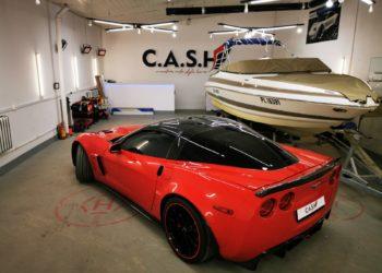 corvette przyciemnianie